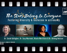 Video: The Stars Belong to Everyone: Fostering Diversity and Inclusion in Astronomy