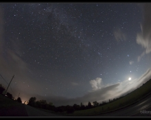 2012 Perseid Meteor Shower, by Bill Longo, RASC Member